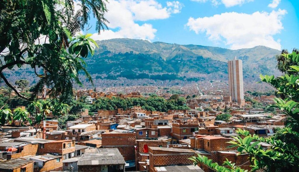 J'ai décidé de vivre à Medellín