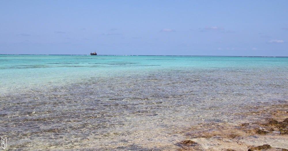 l'eau transparente de San Andrés