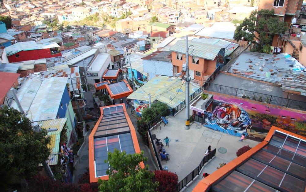 Les escaleras de San Javier