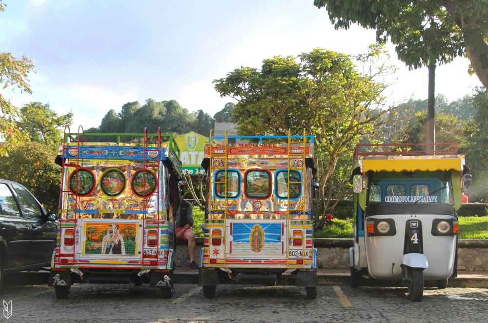 tuktuks aux couleurs de Marie