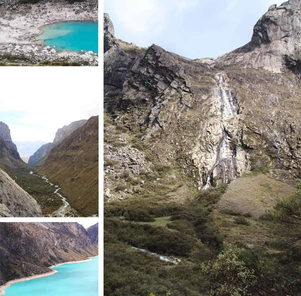 trekking à la laguna 69