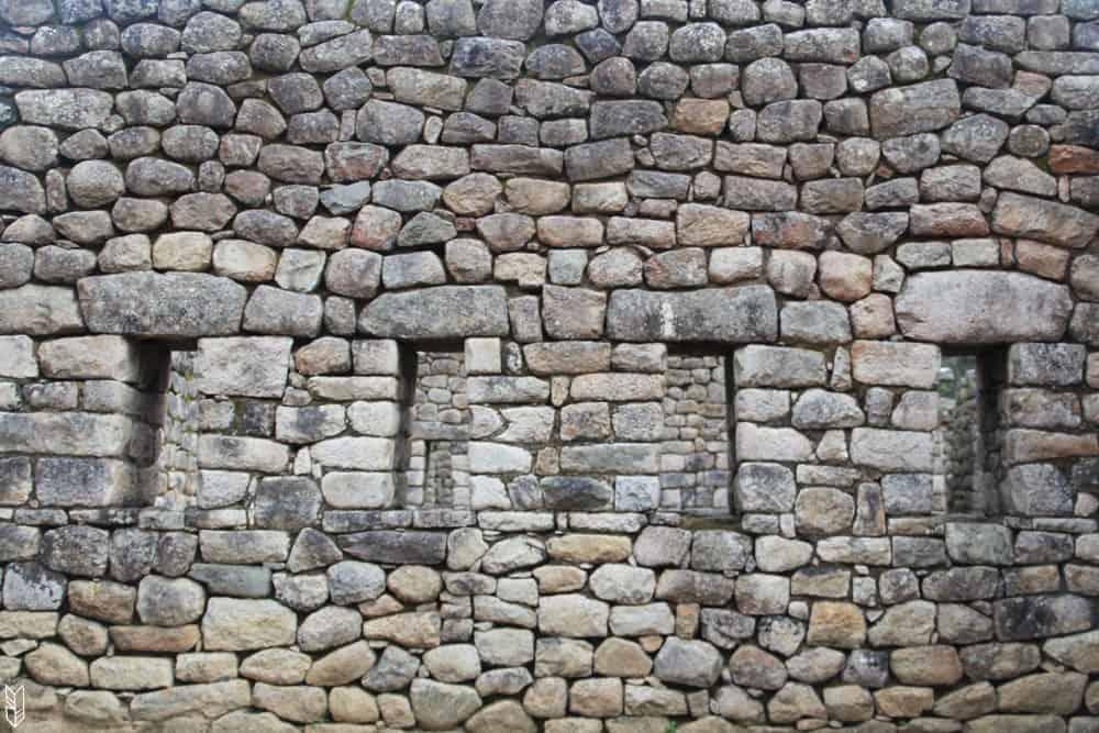 les ruines du Machu Picchu