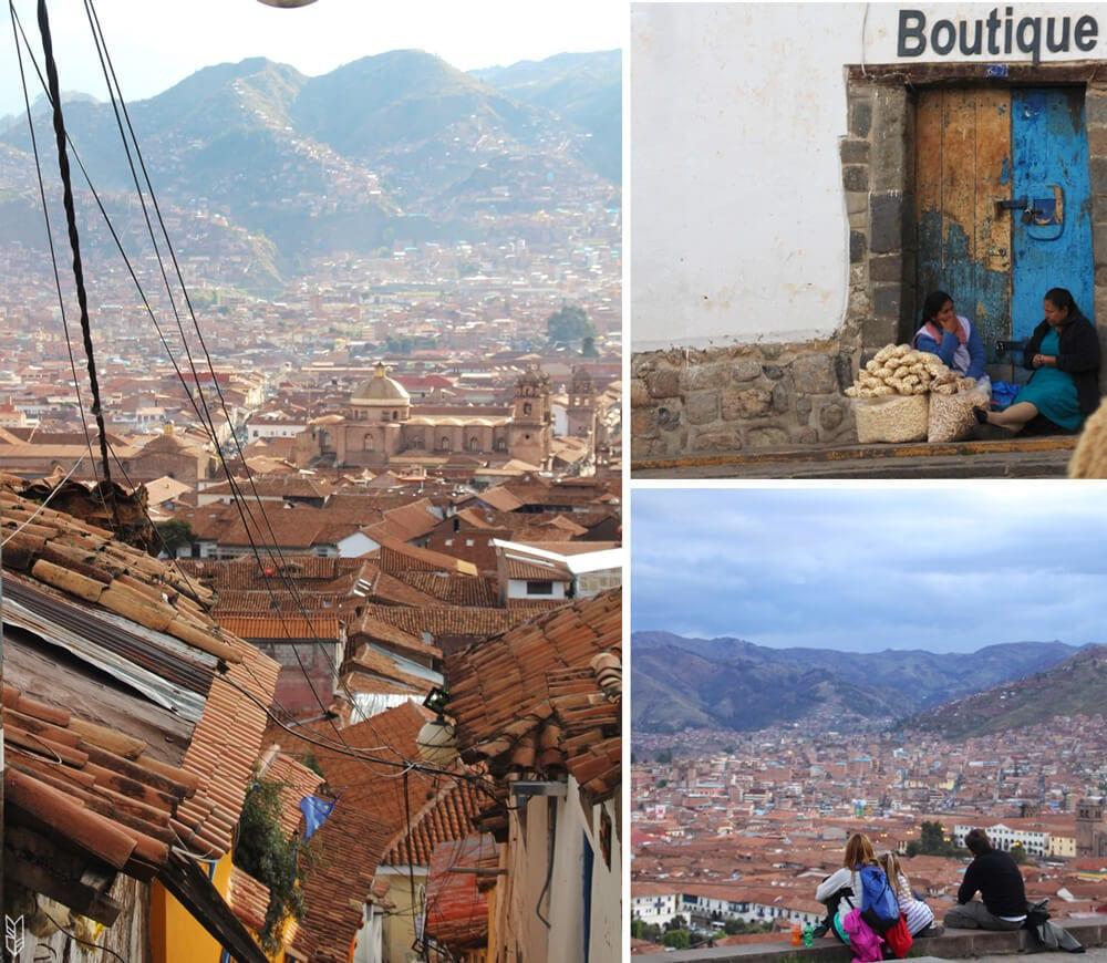 Le centre-ville de Cuzco