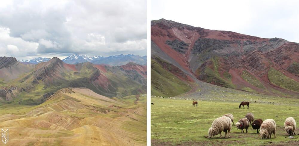 sur la route de la Montagne aux 7 couleurs