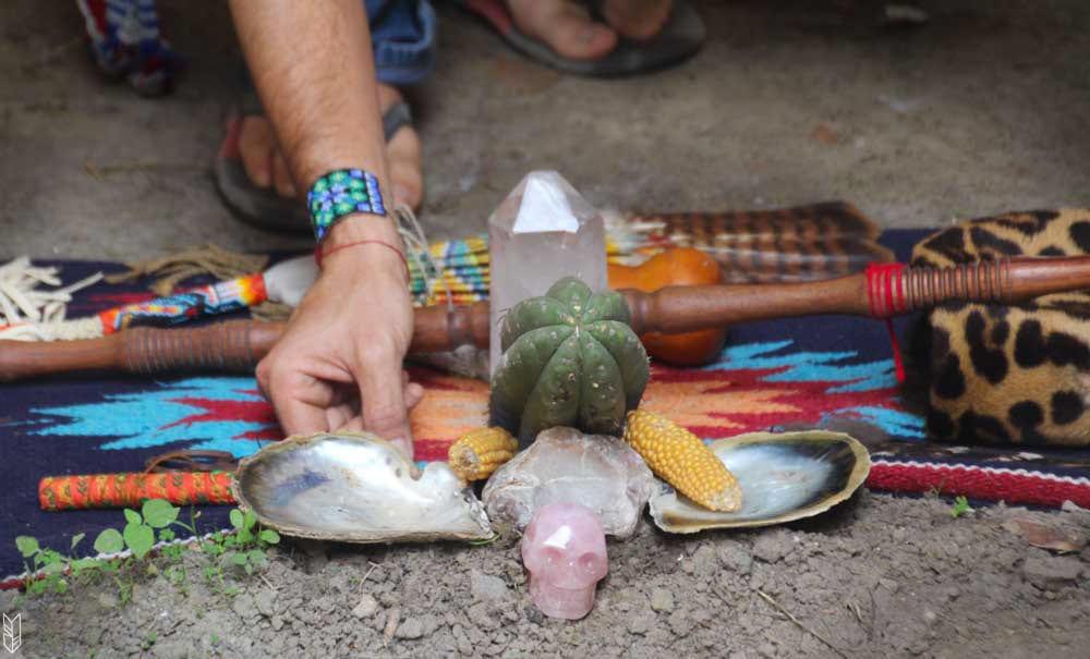 ma cérémonie d'Ayahuasca en Équateur