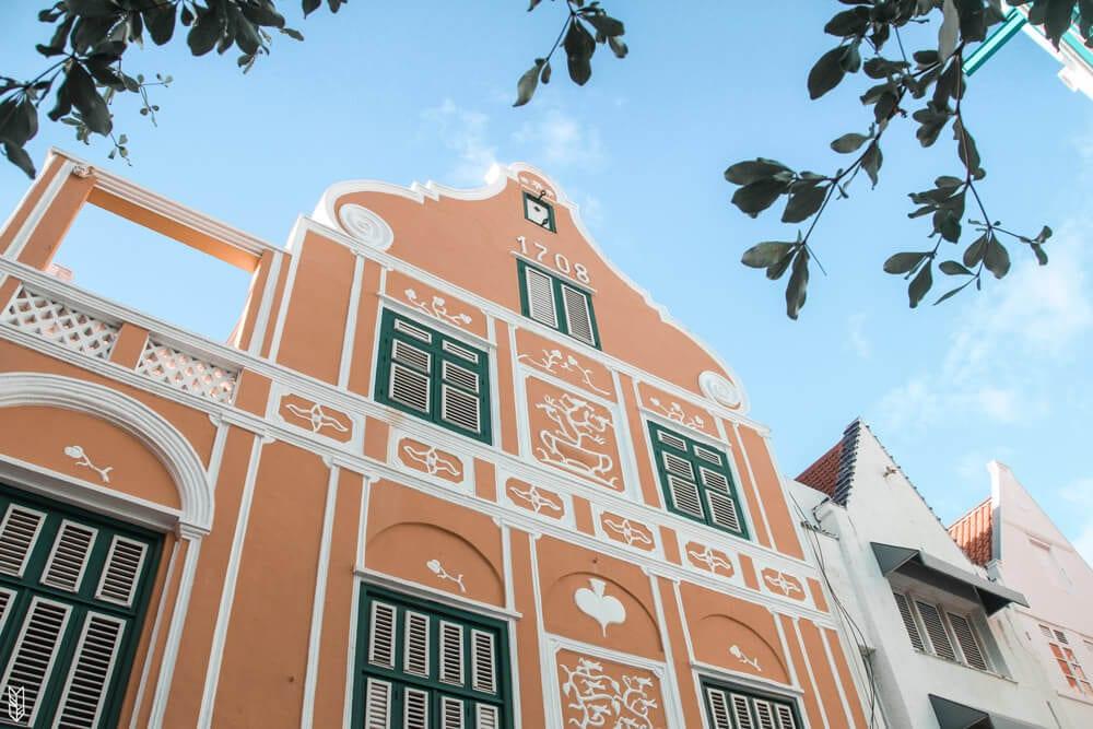 le centre-ville de Curaçao