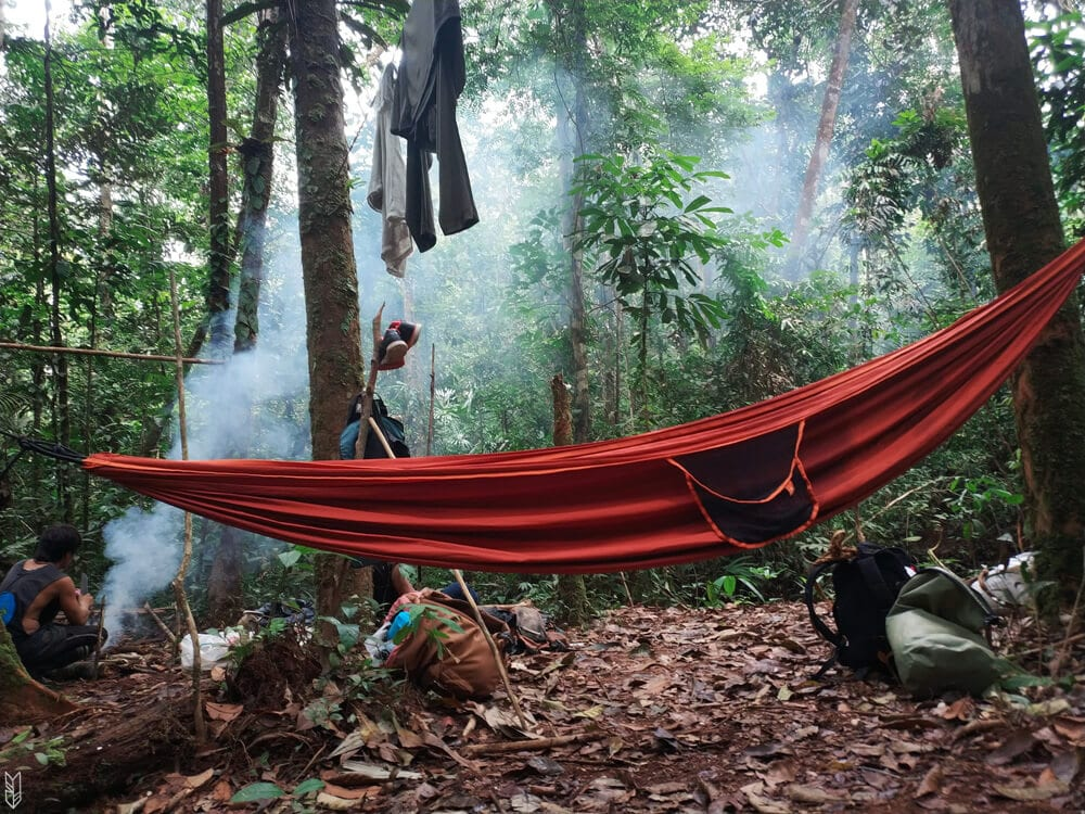 dormir en hamac dans la forêt - Amazonie