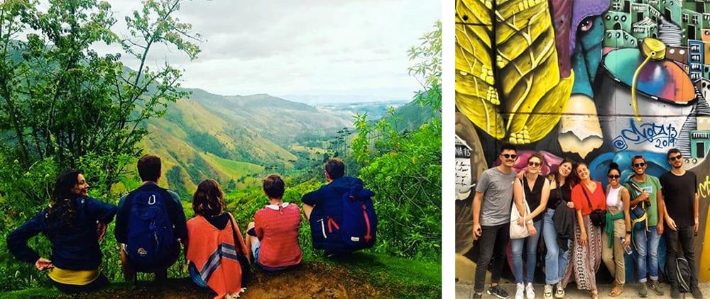 Clémence s'installe vivre en Colombie