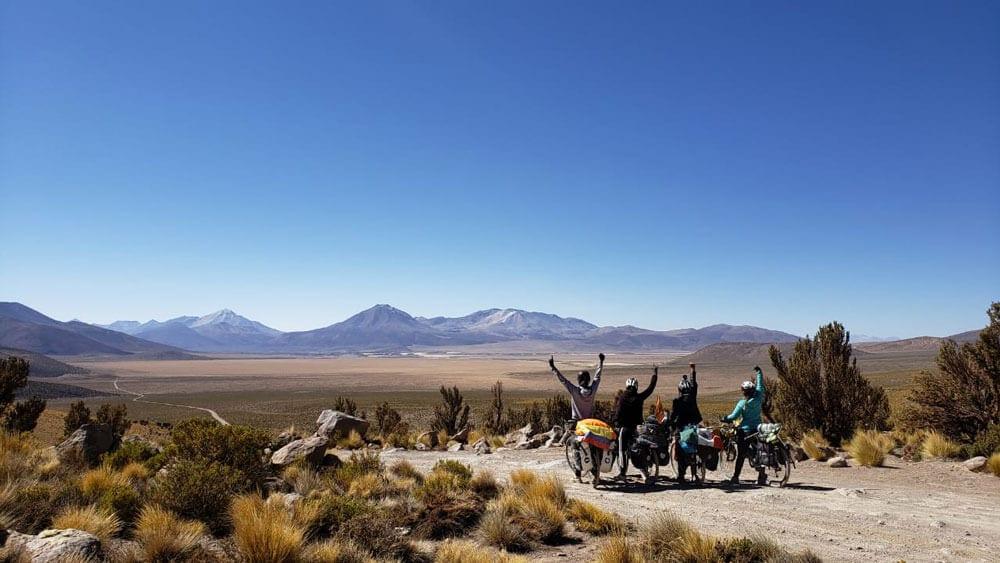 Le tour de l'Amérique du Sud en vélo