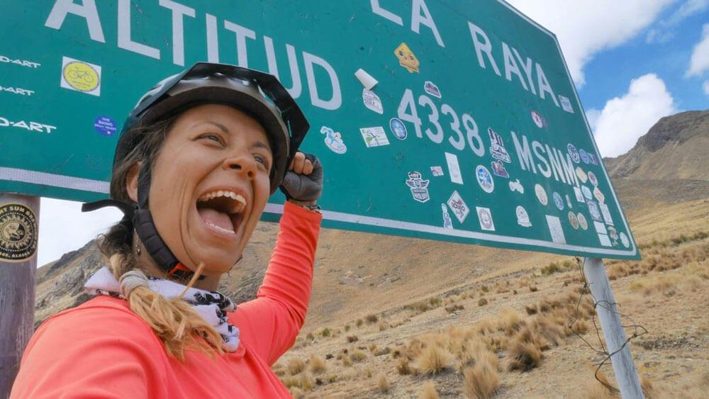Voyage solo en vélo en Amérique du Sud