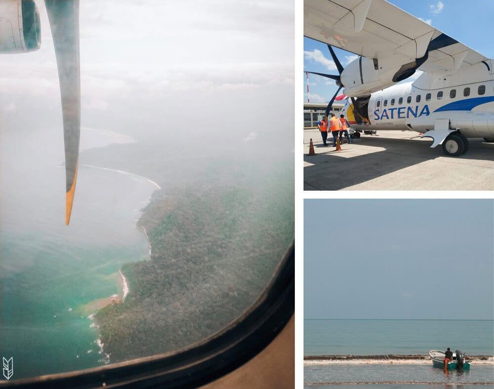 atterrissage à Bahia Solano
