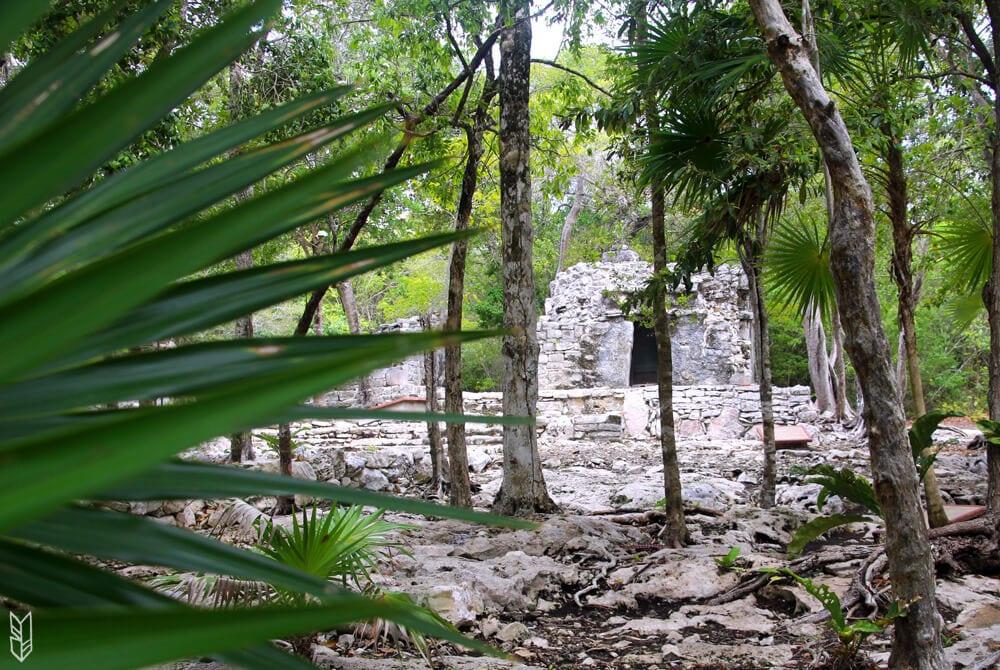 Les ruines Xel-ha - Tulum