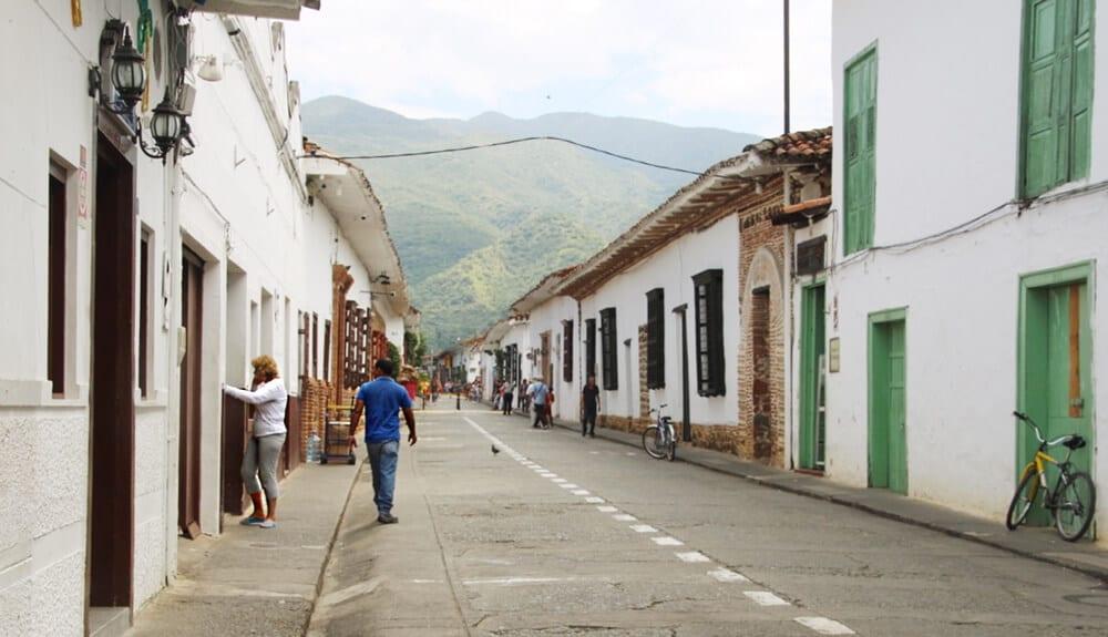 le village de Santa Fe de Antioquia