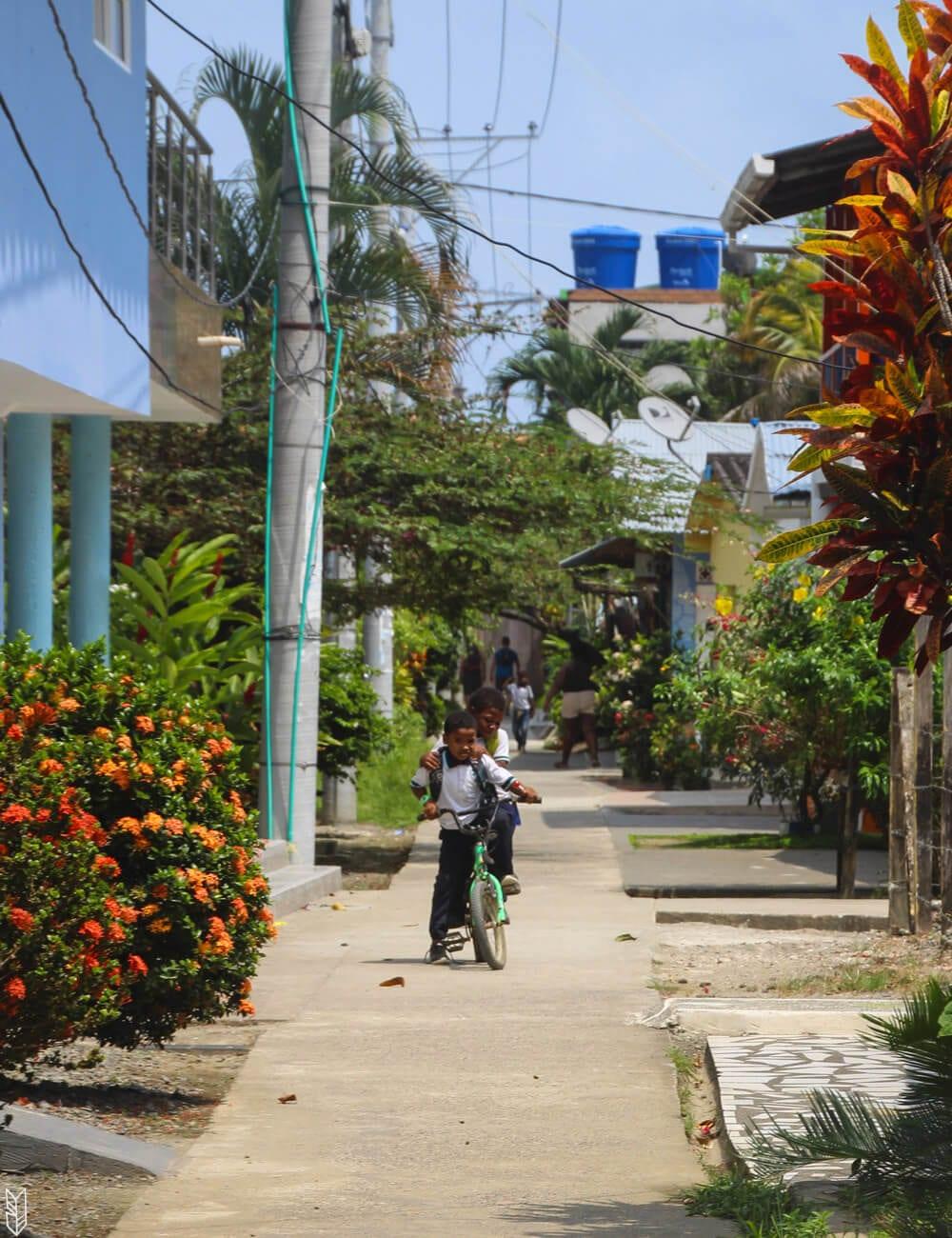 le village de Sapzurro - Chocó