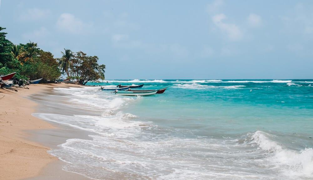 la plage de Sapzurro